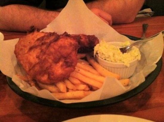 Cape Fear Seafood Company: Cod Fish and Chips
