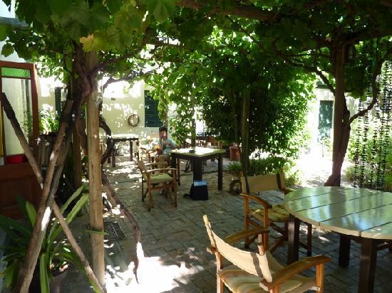 Malherbe Guesthouse : Breakfast area