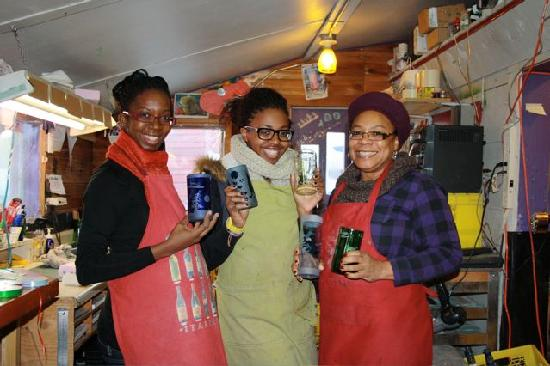 Old Town Glassworks: Happy Workshop Participants