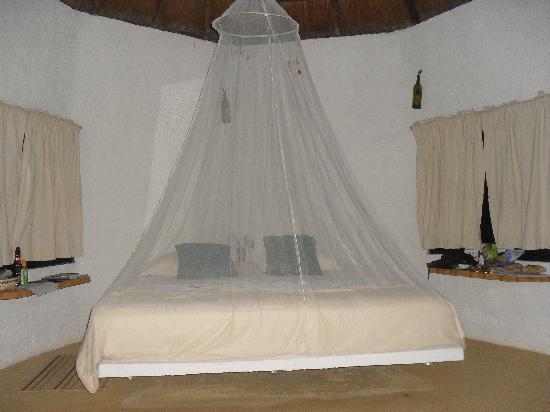 Jolie Jungle: Bungalow bed area