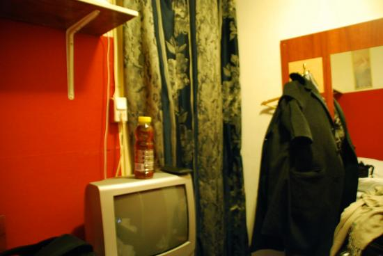 The Veteran: another room, the smallest I`ve ever been