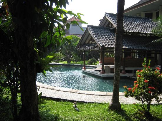 Dayu Beach Hotel : Nice pool and garden