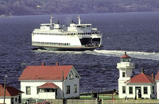 Historic Mukilteo Lighthouse and Ferry