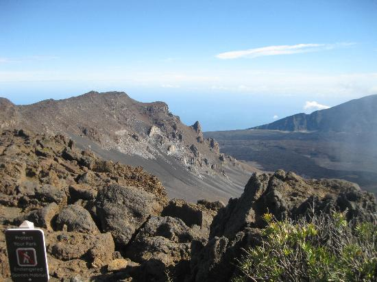 View of Haleakala Crater