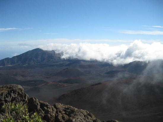 Haleakala Crater: Another crater view