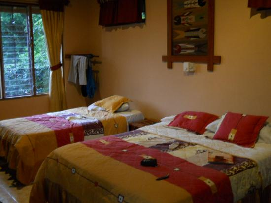 Hotel Ritmo Tropical: Interior of Bungalow