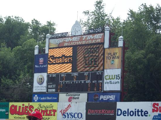 City Island : The Scoreboard