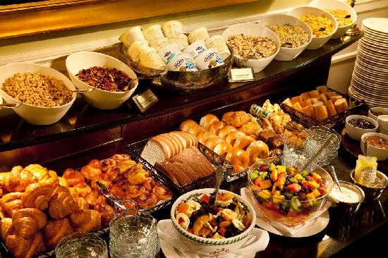 Hotel Drisco: Breakfast Buffet