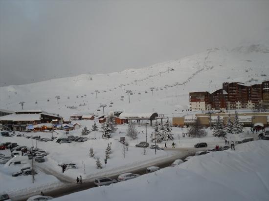 Hotel Le Pic Blanc: vue de la chambre