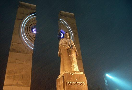 Chelyabinsk, Rússia: Памятник Курчатову