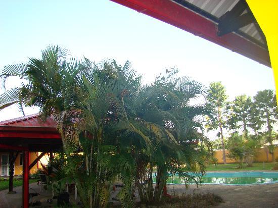 Kekemba Resort Paramaribo : Achtertuin