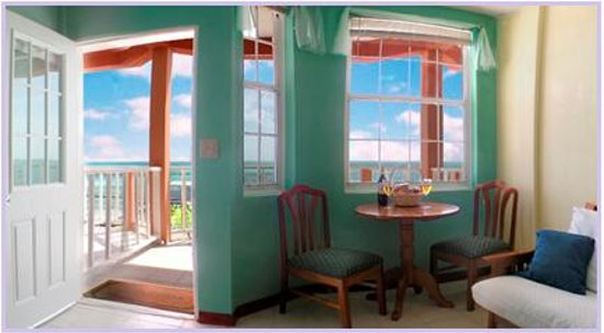 Caye Caulker Condos: Front and Room