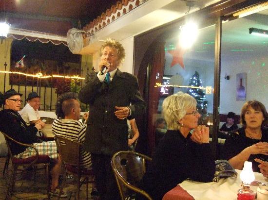 "Restaurante Margarita: Rod ""Ged Bolton"" Stewart at Margarita"