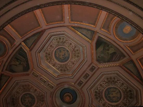 Lope de Vega Theater : techo del teatro