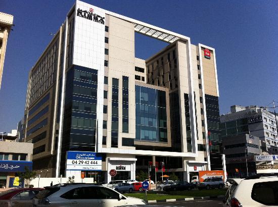 Ibis Al Rigga: exterior of hotel