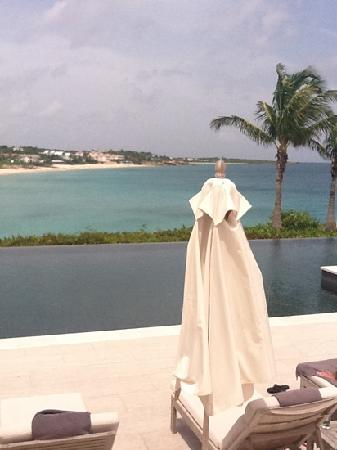 Half Shell at Viceroy Anguilla: Sunset pool