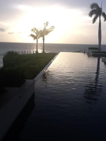 Half Shell at Viceroy Anguilla: Sunset at the Sunset Pool
