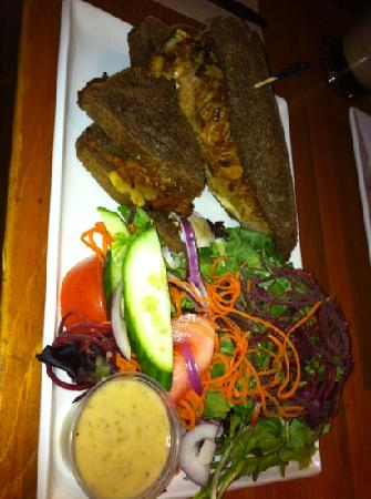 Chelsea Pub: pulled pork and apple grilled cheese!