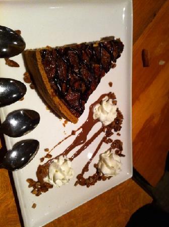 Chelsea Pub: chocolate pecan pie!