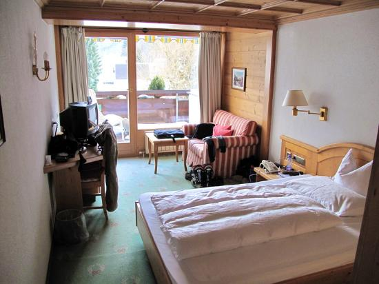 Alpenhotel Montafon: single room with terrace