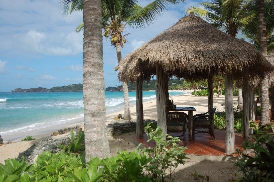 Galley Bay Resort: Lunch at Gauguin