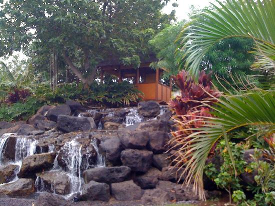 Fairmont Orchid, Hawaii: another waterfall