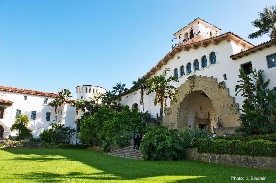 Goleta, Californien: Santa Barbara Courthouse