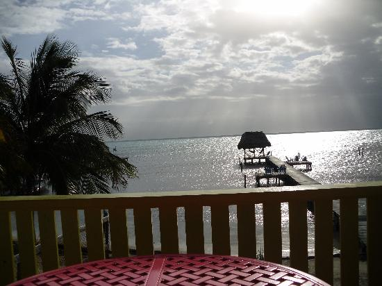 Colinda Cabanas: Sunrise off our deck