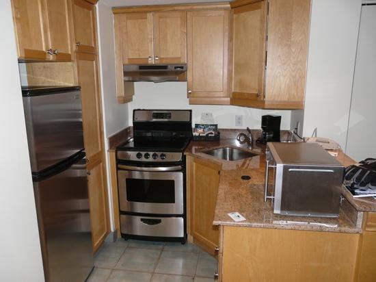 Homewood Suites Mont-Tremblant: cozinha