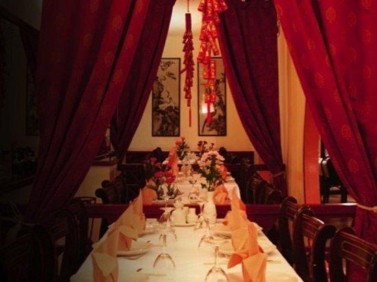 Singapore Chinese Restaurant interior