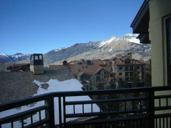 Lumiere Telluride: Nice view and quite