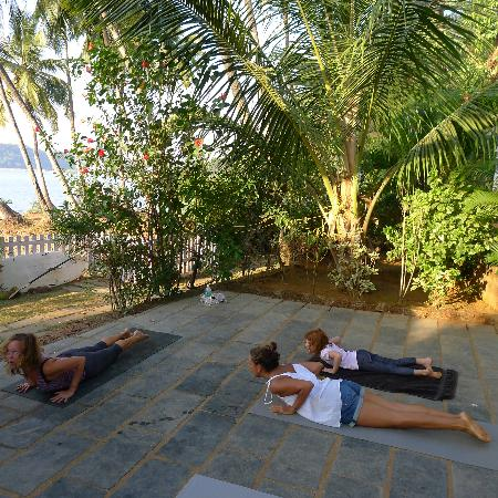 Riverview Villas : Yoga with Fay