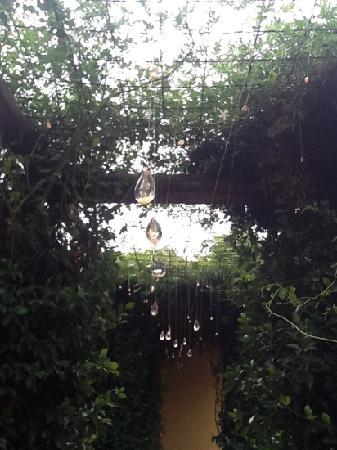 Casa Los Jazmines: cristales al sol