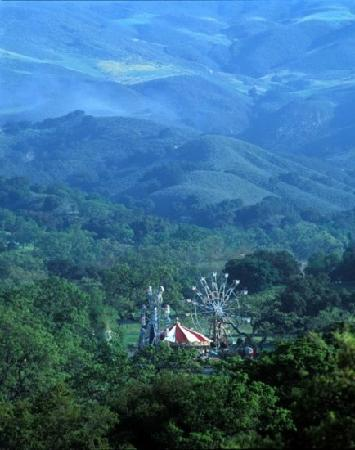 Santa Ynez Valley: view from Neverland ranch in Santa ynez