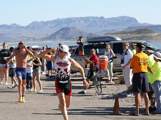 Elephant Butte, Nuevo Mexico: Elephant Man Triathlon