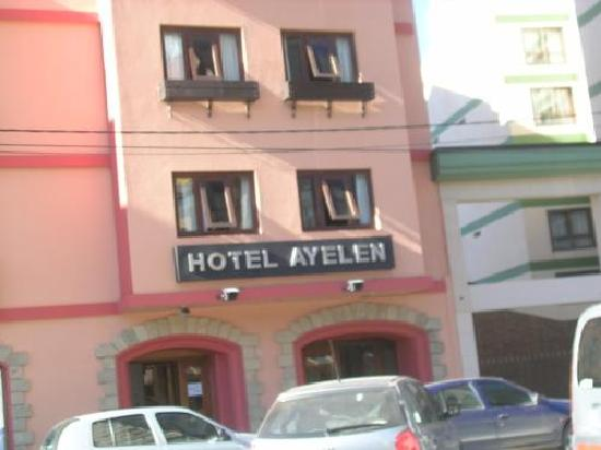 Hotel Ayelen : fachada del hotel