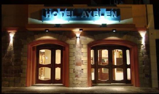Hotel Ayelen: entrada al hotel
