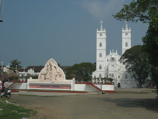 Kochi, India: Front View From a Distance