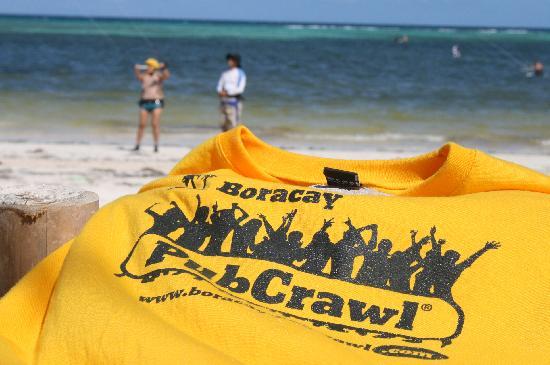 You'll get a FREE Boracay PubCrawl T-Shirt!