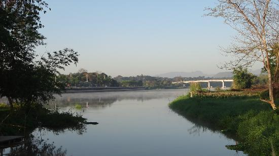 The Imperial River House Resort: morning river view from hotel