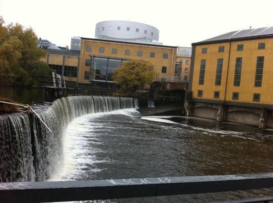 Norrköping, Suède : Converted old factories