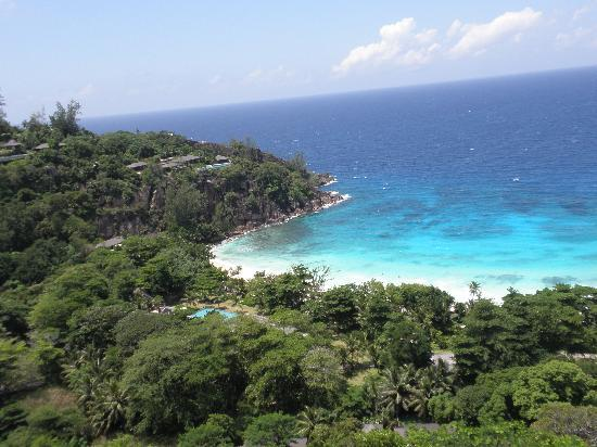 Four Seasons Resort Seychelles: view from spa