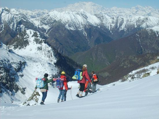 Parco Nazionale Val Grande: Valgrande: sull'Alpe Scaredi