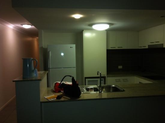 The Point Resort: room 206 kitchen