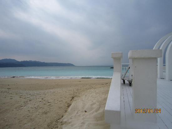 Okuma Beach : ビーチ
