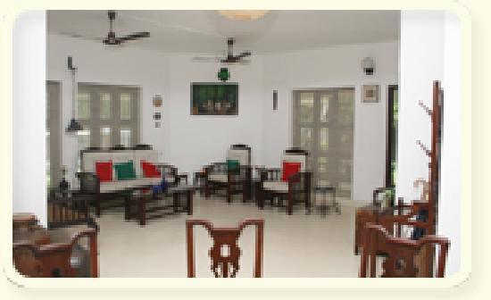 Tharavadu Homestay: living room