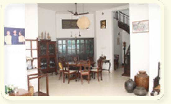 Tharavadu Homestay: dining space
