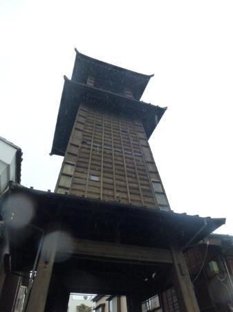 Kawagoe, Japon : 雨の時の鐘