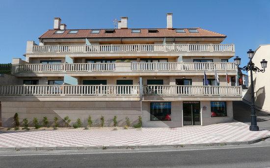 Baiona, Hiszpania: Fachada bloque 1