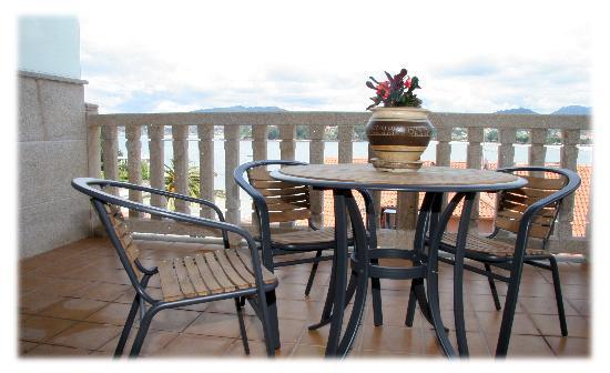 Mirador Ria de Bayona: Terraza